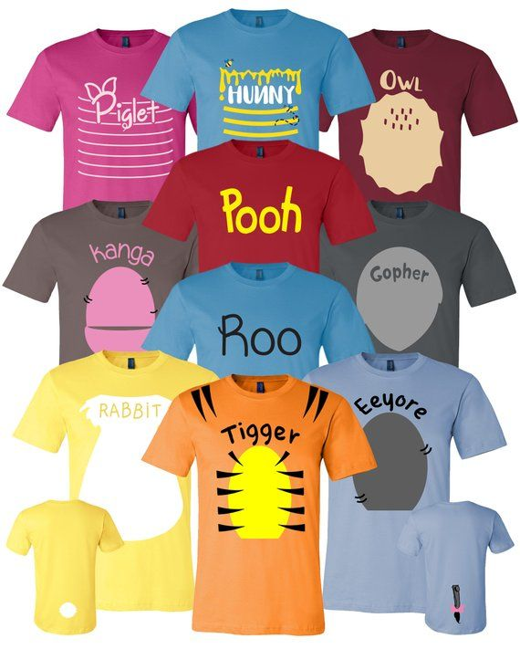 46bd9a98a8c6 Pooh   Friends Inspired Adult