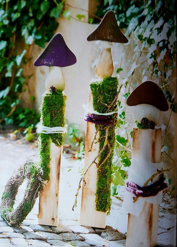 16 best Deko Holz images on Pinterest | Painting art, Christmas deco ...