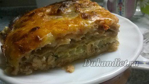 Рыбное филе, запеченное под томатно-сырным соусом | Диета Дюкана
