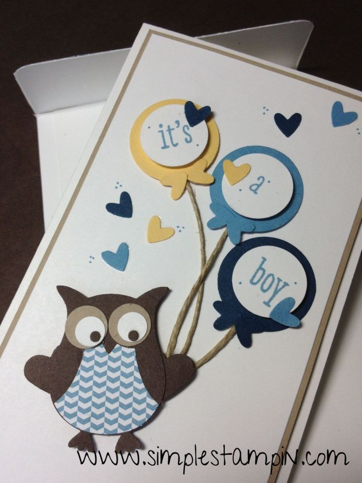 Owl builder punch Stampin' Up!