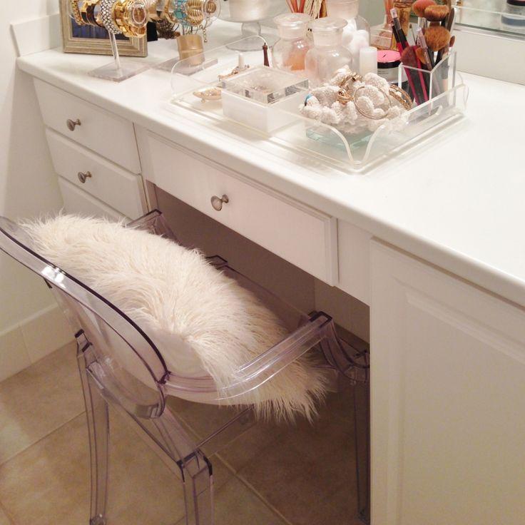 Luxe Report Ghost Chair Amp Vanity Decor Pinterest