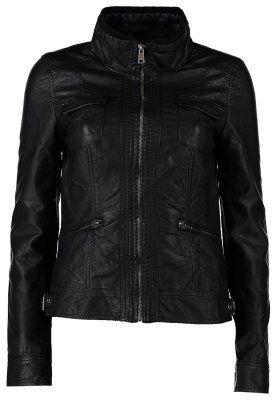 NEW LION - Faux leather jacket - black