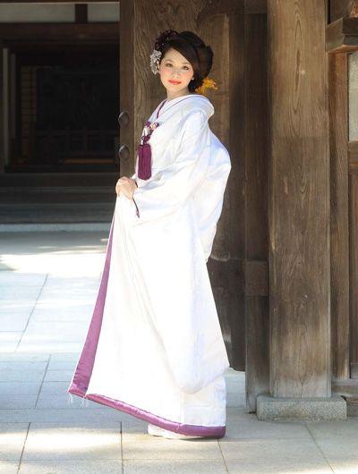 Variation of Shiromuku.....(^O^)