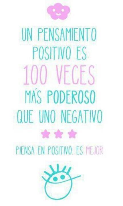 Pensamientos Positivos. #Positivismo #PositiveEnergy #Energia
