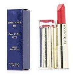 Estee Lauder Pure Color Love Lipstick - #330 Wild Poppy 3.5g/0.12oz