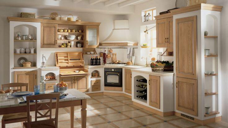 sportelli per cucine in muratura Progettazione di cucine classiche