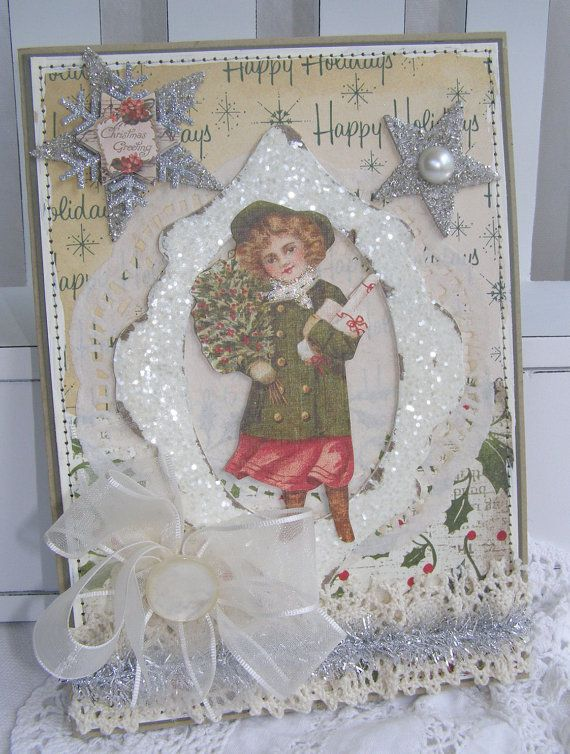 131 best Victorian Christmas Cards images on Pinterest | Victorian ...