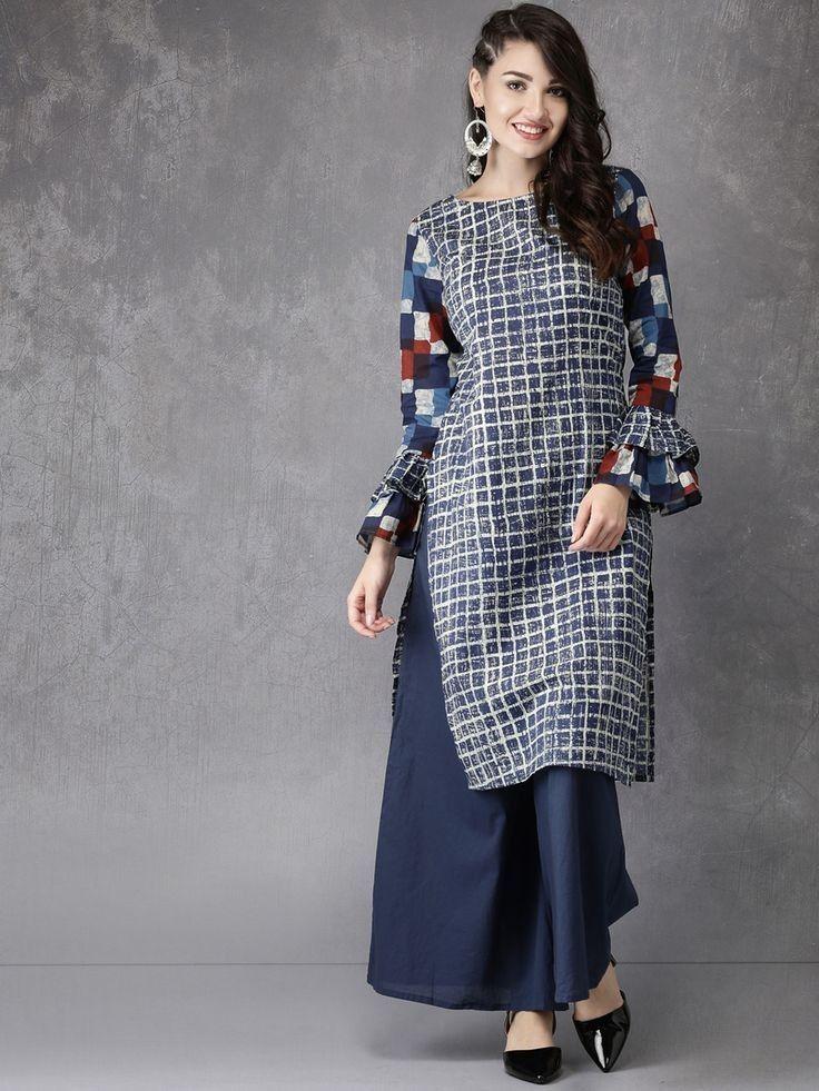 Cotton Kurti It S Simple And Stylish In 2019 Simple Kurti