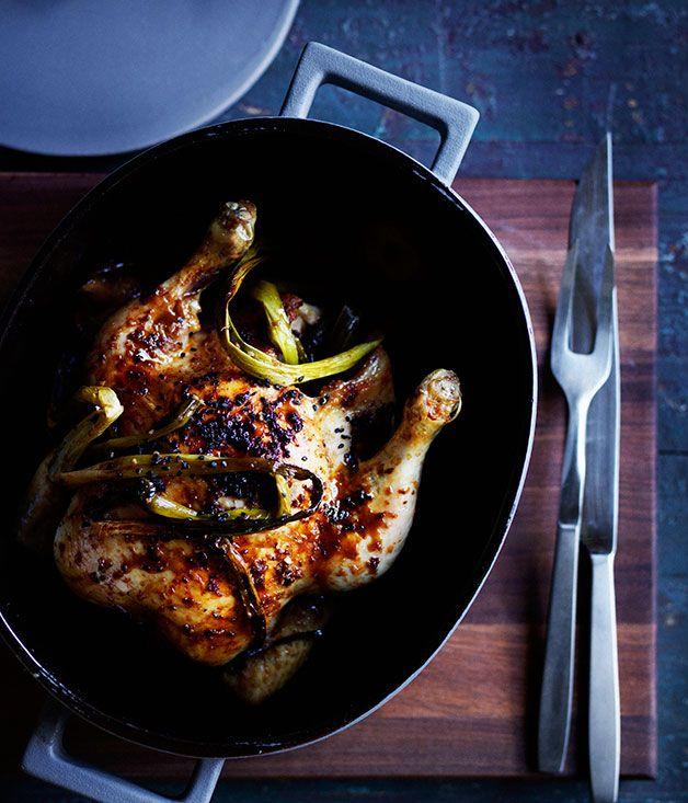 Chinese-style roast chicken :: Gourmet Traveller Magazine Mobile