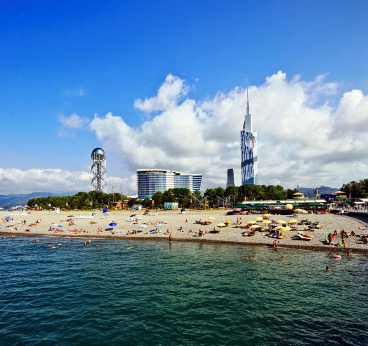 Pier Batumi, Batumi Beach | პიერ ბათუმი, ბათუმის პლაჟი
