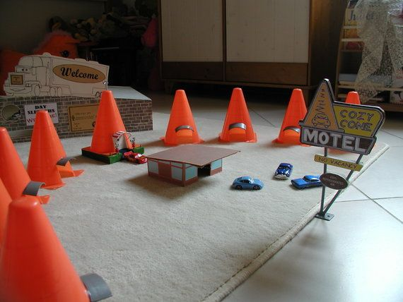 cozy cone motel many details to add and cone base will change green to ...
