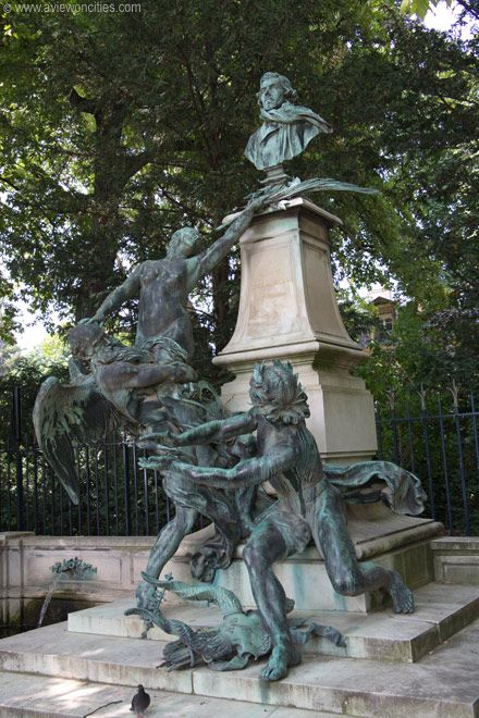 78 images about fountains on pinterest florence rome and philadelphia - Fontaine jardin du luxembourg ...