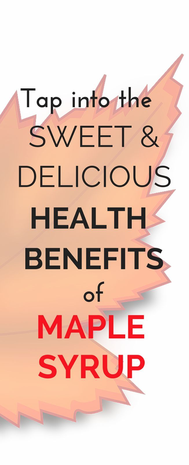 Maple syrup can bring a sweet and delicious addition to a lot of your cooking. But not only that! Tap here to learn why it is a smart choice for its health benefits too! The Health-Minded.com