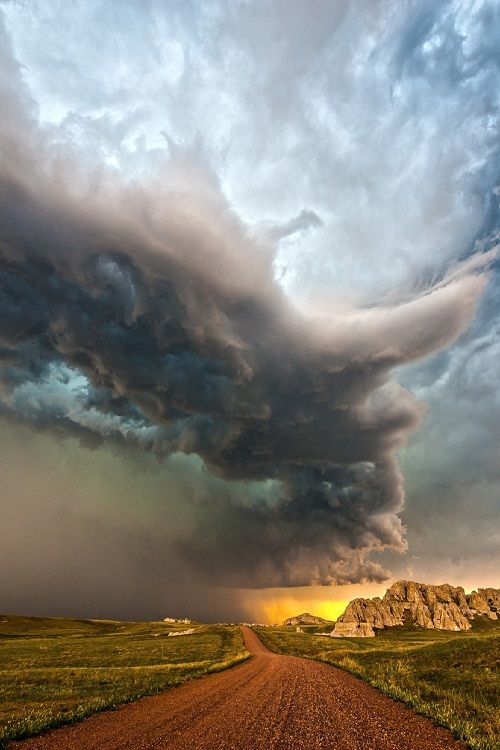 Storm Chasing in Van Tassel, Wyoming by Colt Forney