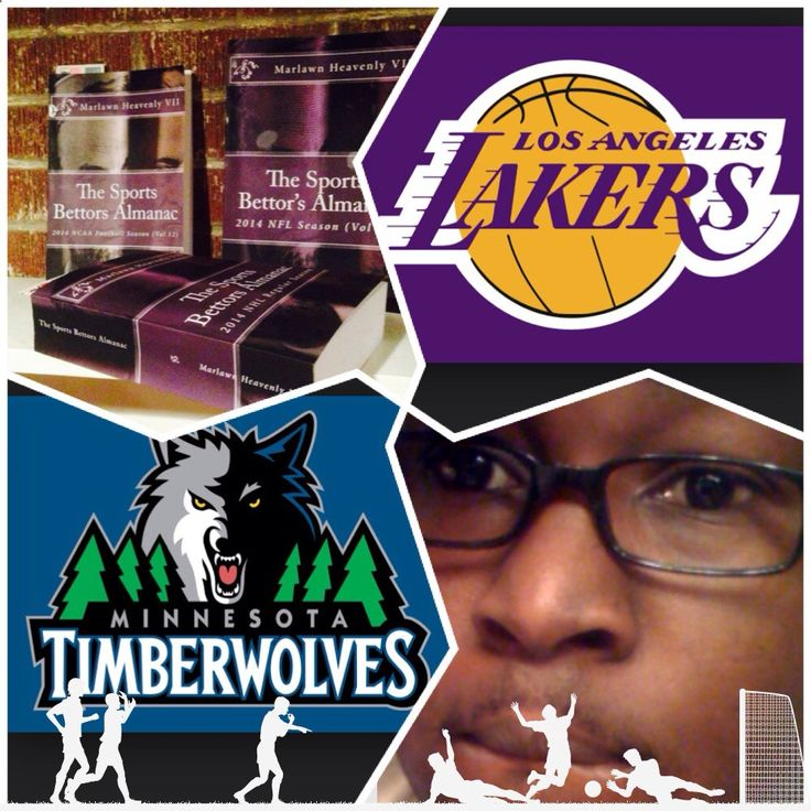 12/14/14 NBA Sports Bettors Almanac update: #LA #Lakers vs #Minnesota #Timberwolves (Take: Minnesota  3,Over 213) SPORTS BETTING ADVICE On 99% of regular season games ATS including Over/Under The Sports Bettors Almanac available at www.Amazon.com TIPS ARE WELCOME : PayPal - SportyNerd@ymail.com Marlawn Heavenly VII #NFL #MLB #NHL #NBA #NCAAB #NCAAF #LasVegas #Football #Basketball #Baseball #Hockey #SBA #401k #Business #Entrepreneur #Investing #Tech #Dj #Networking #Analytics