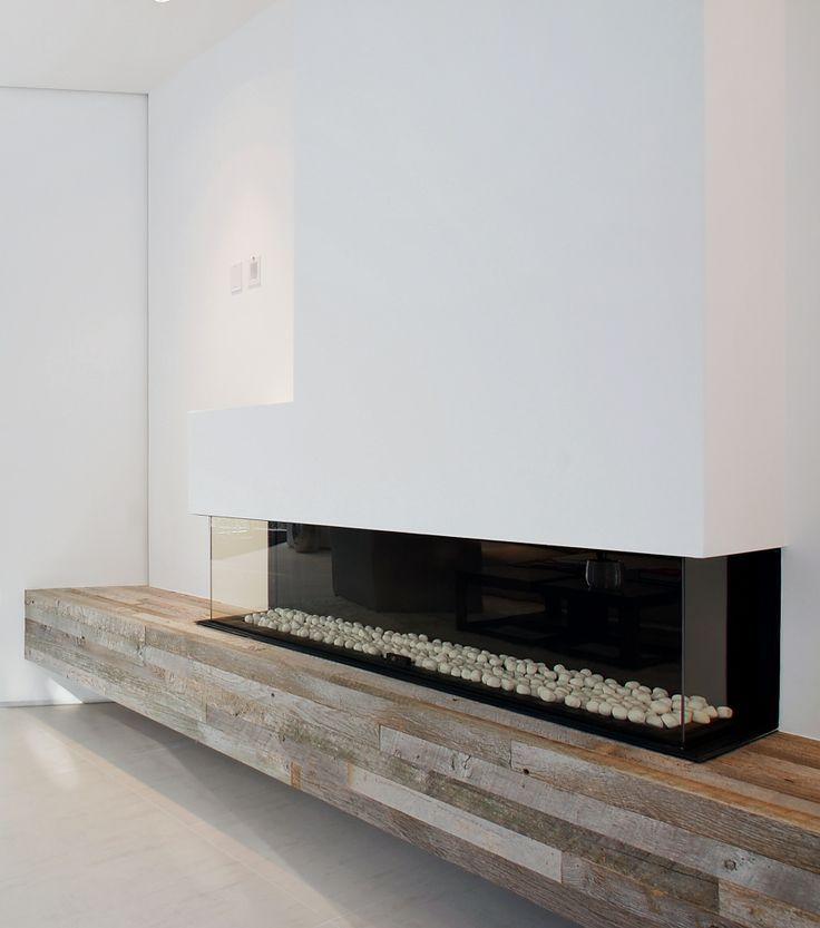 mooie combi van modern en hout