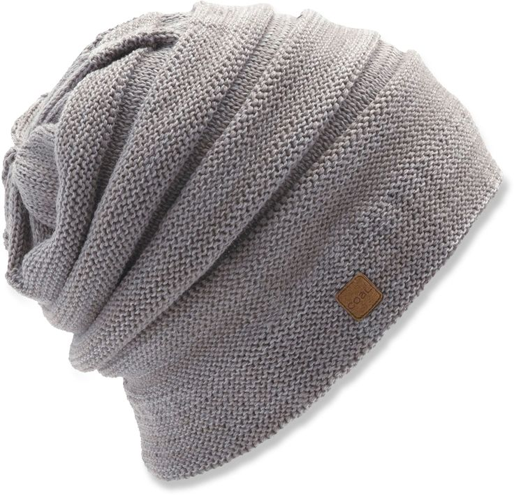 Hide your ski helmet hair for those apres ski nights with a slouch hat.
