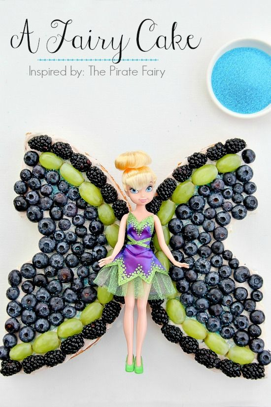 A Fairy Cake inspired by Disney's The Pirate Fairy #ProtectPixieHollow #shop #cbias