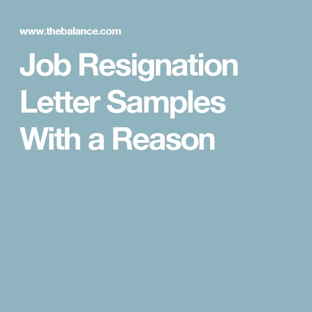 Best  Job Resignation Letter Ideas On   Resignation