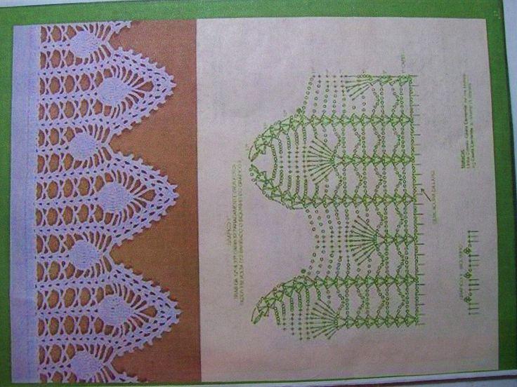 69 best Crochet images on Pinterest | Ganchillo, Puntillas para ...