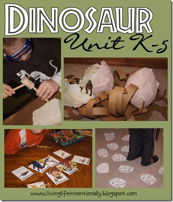 123 Homeschool 4 Me has a  fun, hands on Dinosaur Unit for homeschool elementary kids. This unit has lots of free worksheets