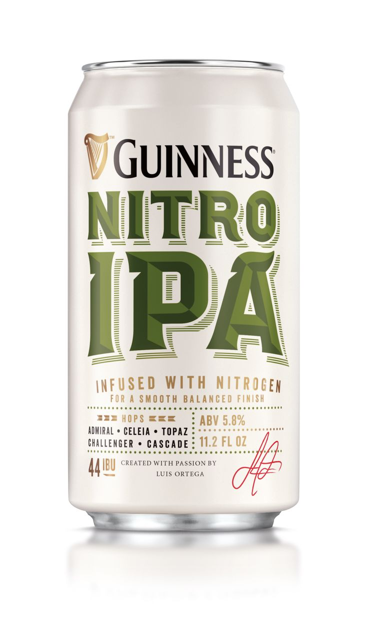 Guinness Nitro IPA. This must be worth a try.
