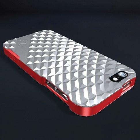 Edge Design Metro iPhone 5 case, high-grade aluminum, polished anodished finish