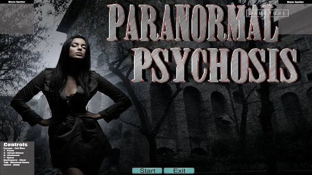 FREE Steam Key: Paranormal Psychosis   free steam key