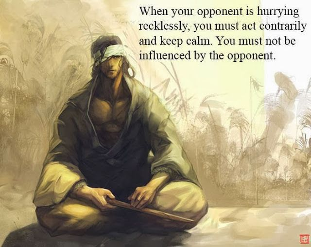 Samurai Quotes (12 pics) -- More without pics here http://www.goodreads.com/author/quotes/14462.Miyamoto_Musashi