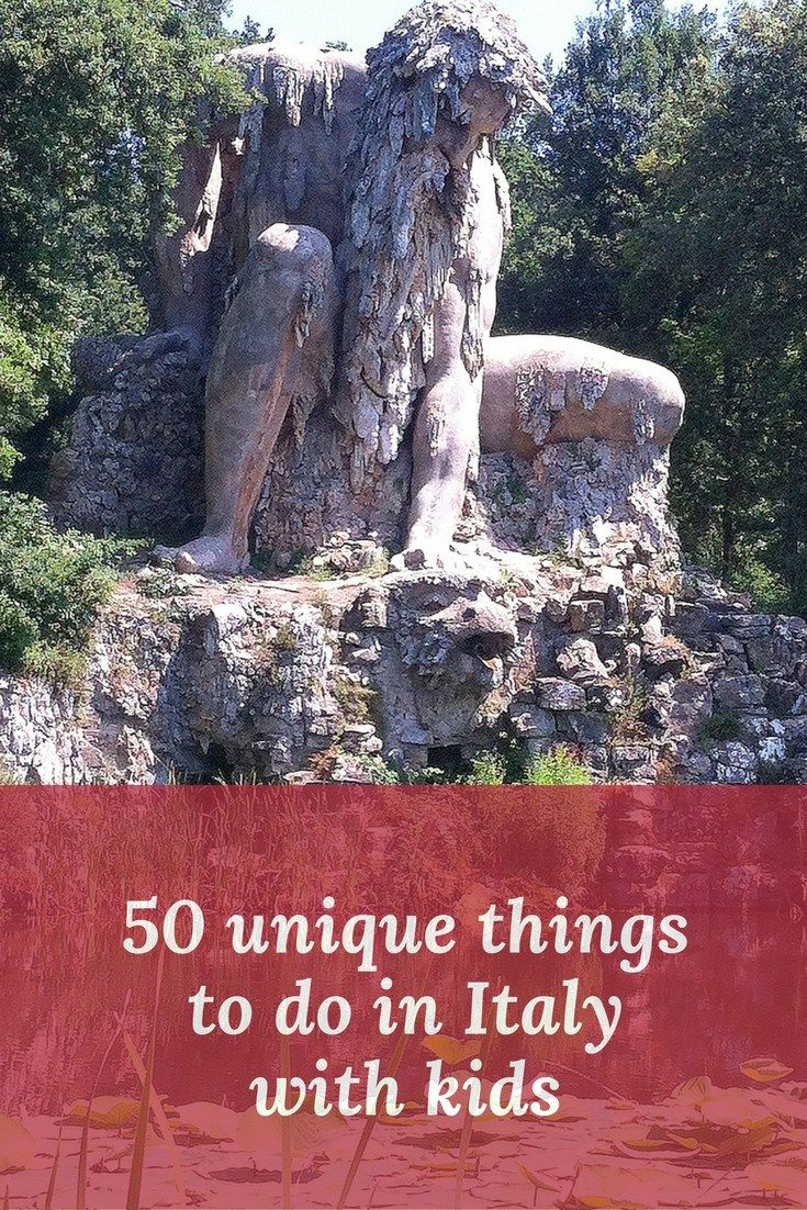 50 unique things to do in Italy with kids