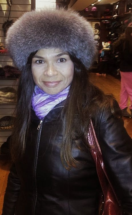 Winter fur hat found in Beauchapeau in Niagara-on-the-Lake.