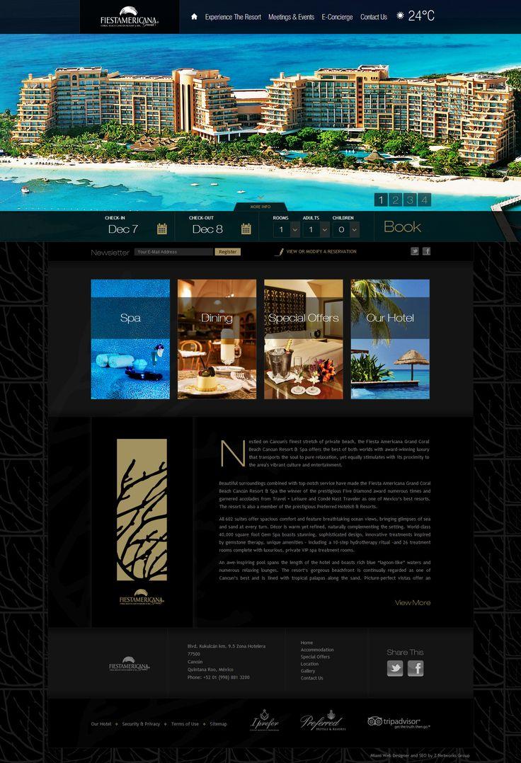 Fiesta Americana Grand - Hotel Website Design