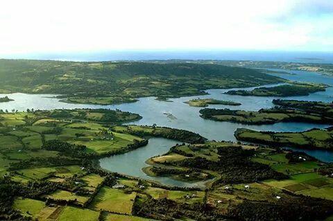 Chiloé Island, Los Lagos Region, Chile.