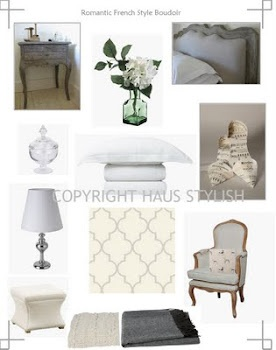 Our master bedroom style board