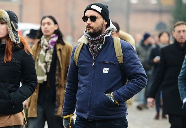 Detroit Jacket Revisited by A.P.C. x Carhartt
