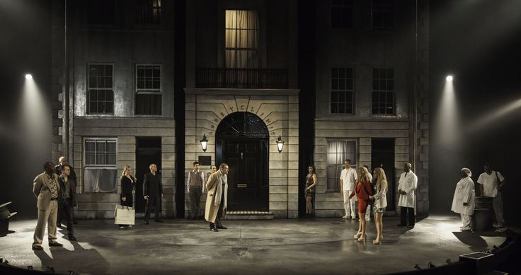 The Comedy of Errors. National Theatre. Set design by Bunny Christie.