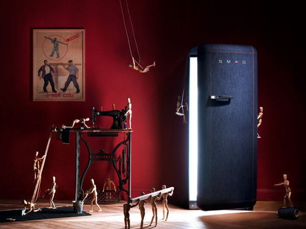 SMEG - Still live for the DENIM SPECIAL EDITION by The Freaks , via Behance