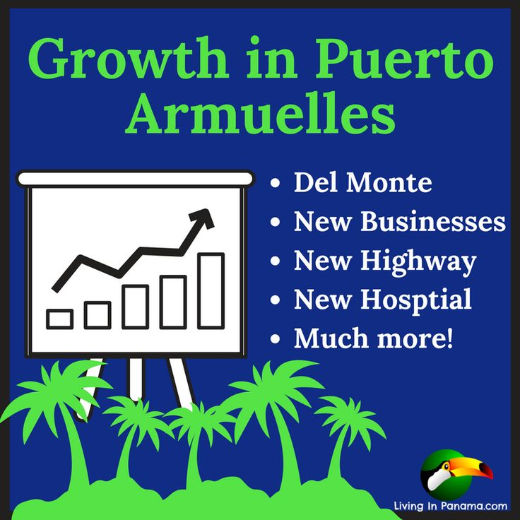 We have been telling our readers for over a year now, that Puerto Armuelles is on the cusp of a big bump in growth.The type of growth & investment that...
