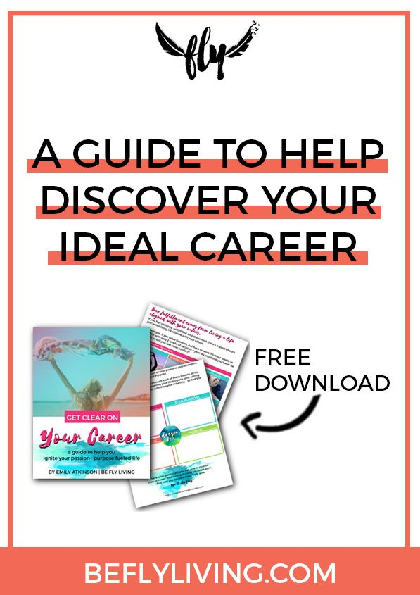 You have a special gift. A purpose. A calling that is unique to you – AND IT'S TIME TO DISCOVER IT! Download your FREE COPY of Get Clear on Your Career and ignite your passion + purpose fueled life once and for all! Career Guide To Help Find Your Calling.