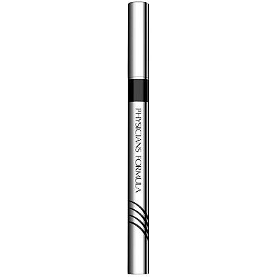 Physicians Formula 2 in 1 Lash Boosting Eyeliner + Serum. Great brush tip and no smudge!