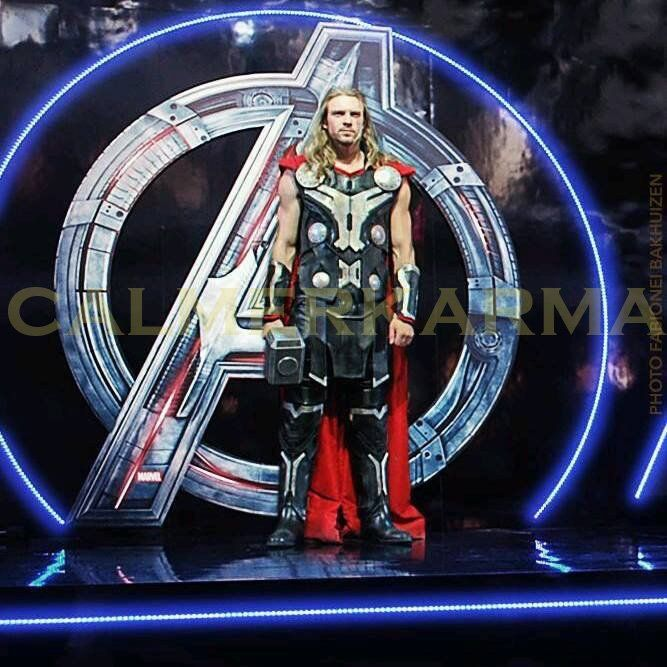 SUPERHEROES  to hire - THOR LOOKALIKE for your SUPERHEROES themed party and corporate events. www.calmerkarma.co.uk    Tel:  0203 602 9540 Available to hire across the UK inc London, manchester, cheshire, Birmingham, Belfast
