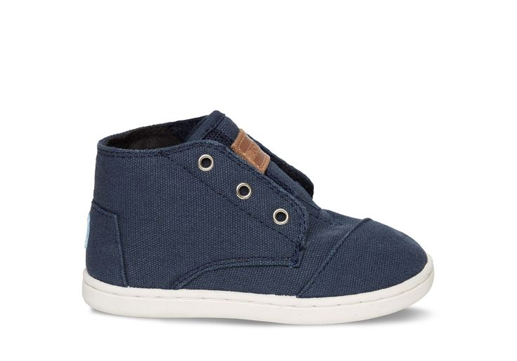 undefined Navy Canvas Tiny TOMS Paseo-Mids