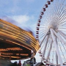 DAY ONE: Navy Pier- Stretching out over 3,000 feet into Lake Michigan, the iconic Navy Pier is home to some of the most popular Chicago attractions. Explore restaurants, shops, amusement park rides, and more – all without leaving the colorful, exciting atmosphere of the Pier.