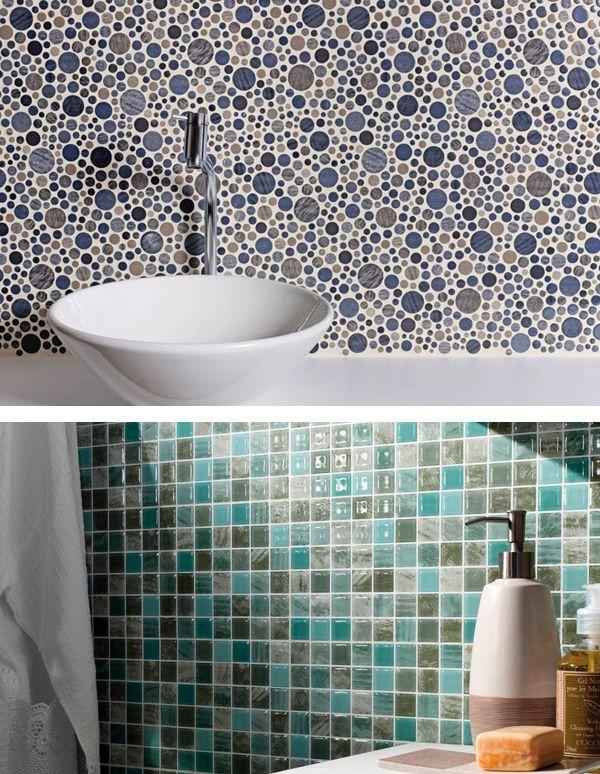 Revestimentos para paredes do banheiro for Ceramica para revestir paredes