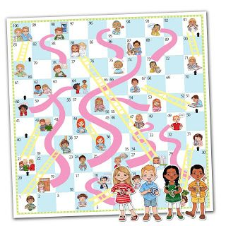 Choices and Consequences Free Printable Board Game...for singing time, sharing time, or FHE.