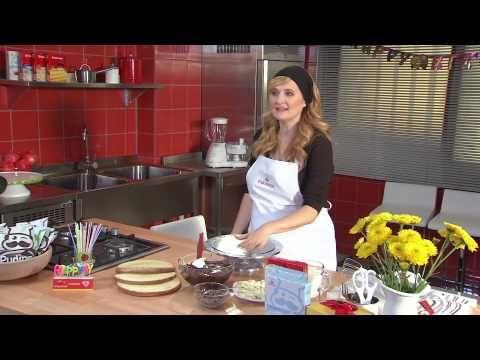 Ev Yapımı Doğum Günü Pastası Tarifi - YouTube