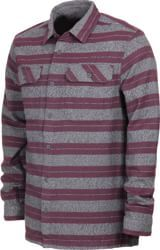 Patagonia Fjord Flannel Shirt (Closeout) - blanket stripe: feather grey