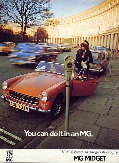 MG Midget adv