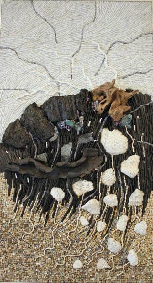 506 best images about mosaics abstracts on pinterest for Cabanes du jardin de pierre