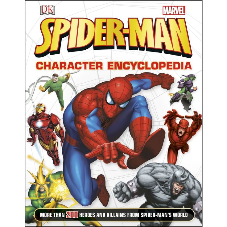 Spider-Man Character Encyclopedia (Hardcover) by Daniel Wallace
